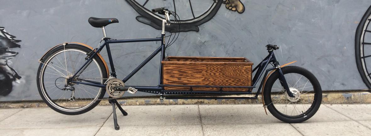 retrofiet cargobike bakfiets handmade bicycle pdx portland