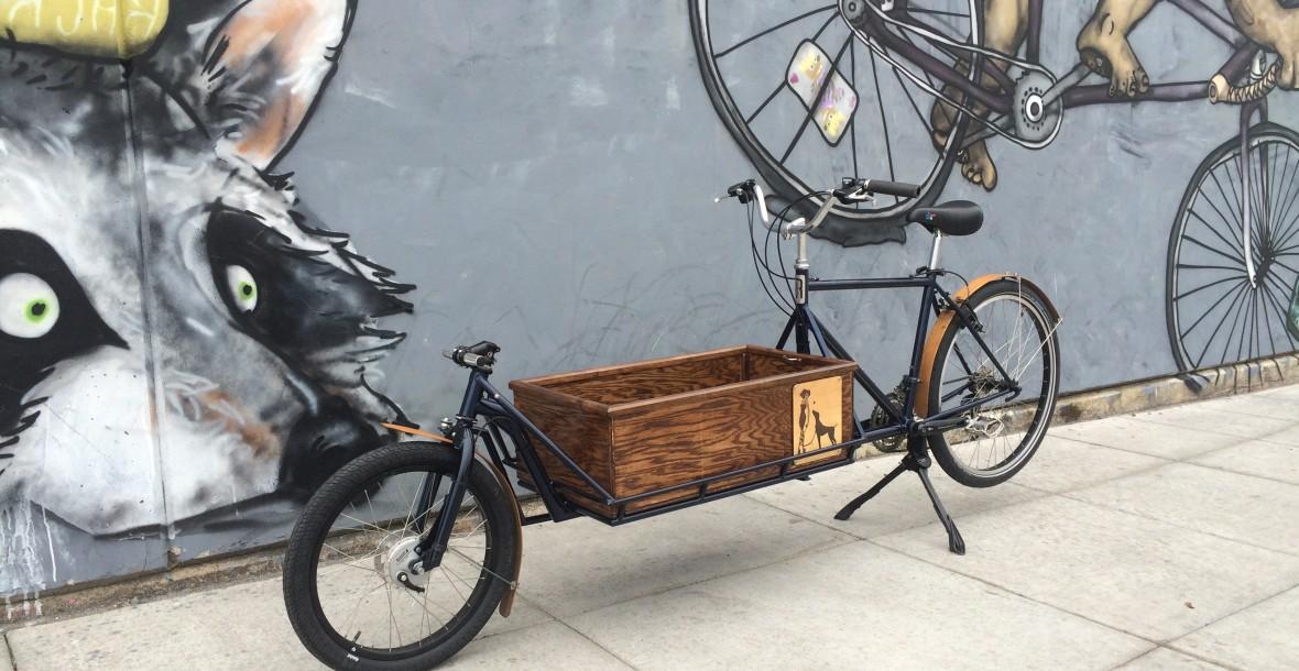 bakfiets portland pdx cargobike handmade bicycle