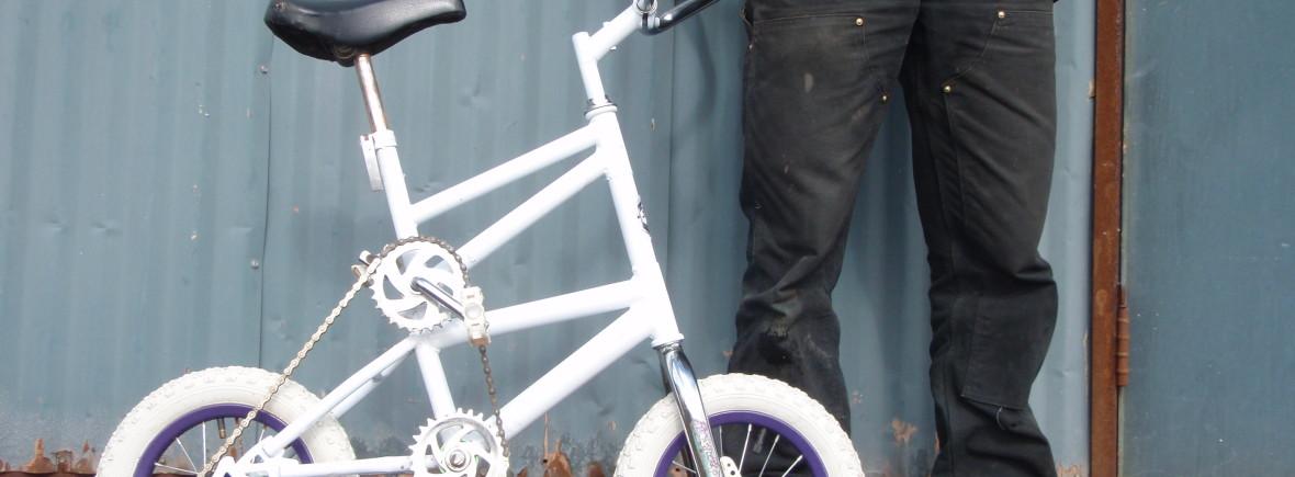 Custom freakbike tallbike pdx portland