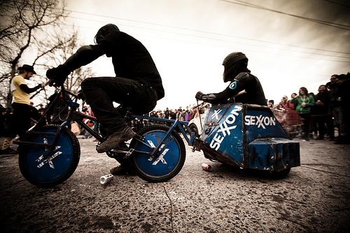 handmade freakbike bicycle portland chariot
