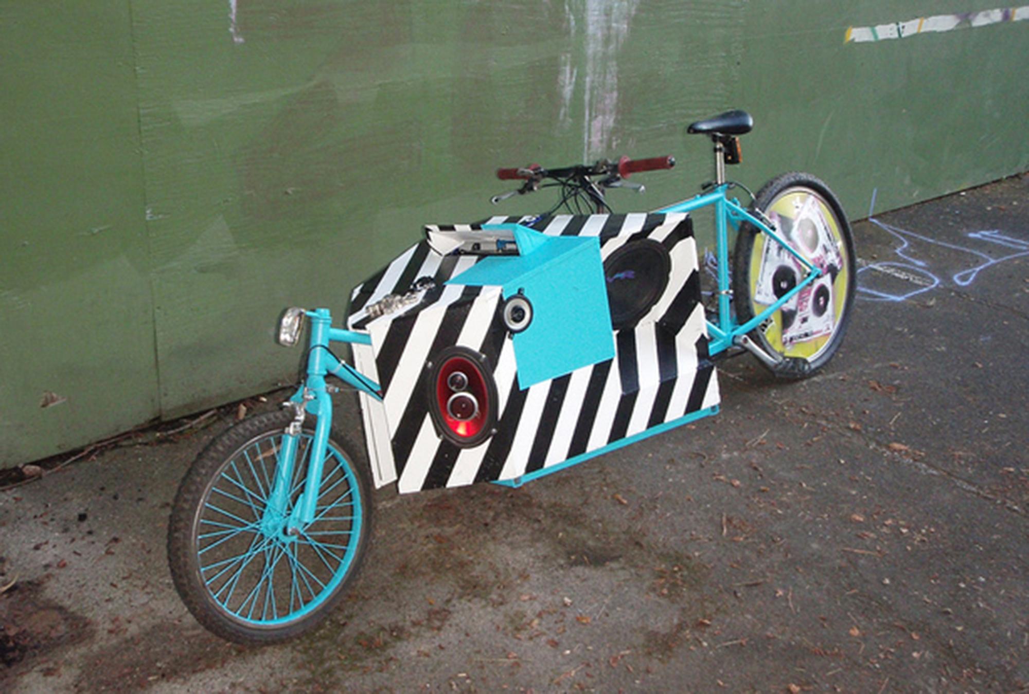 handmade freakbike bicycle portland cargobike fr808