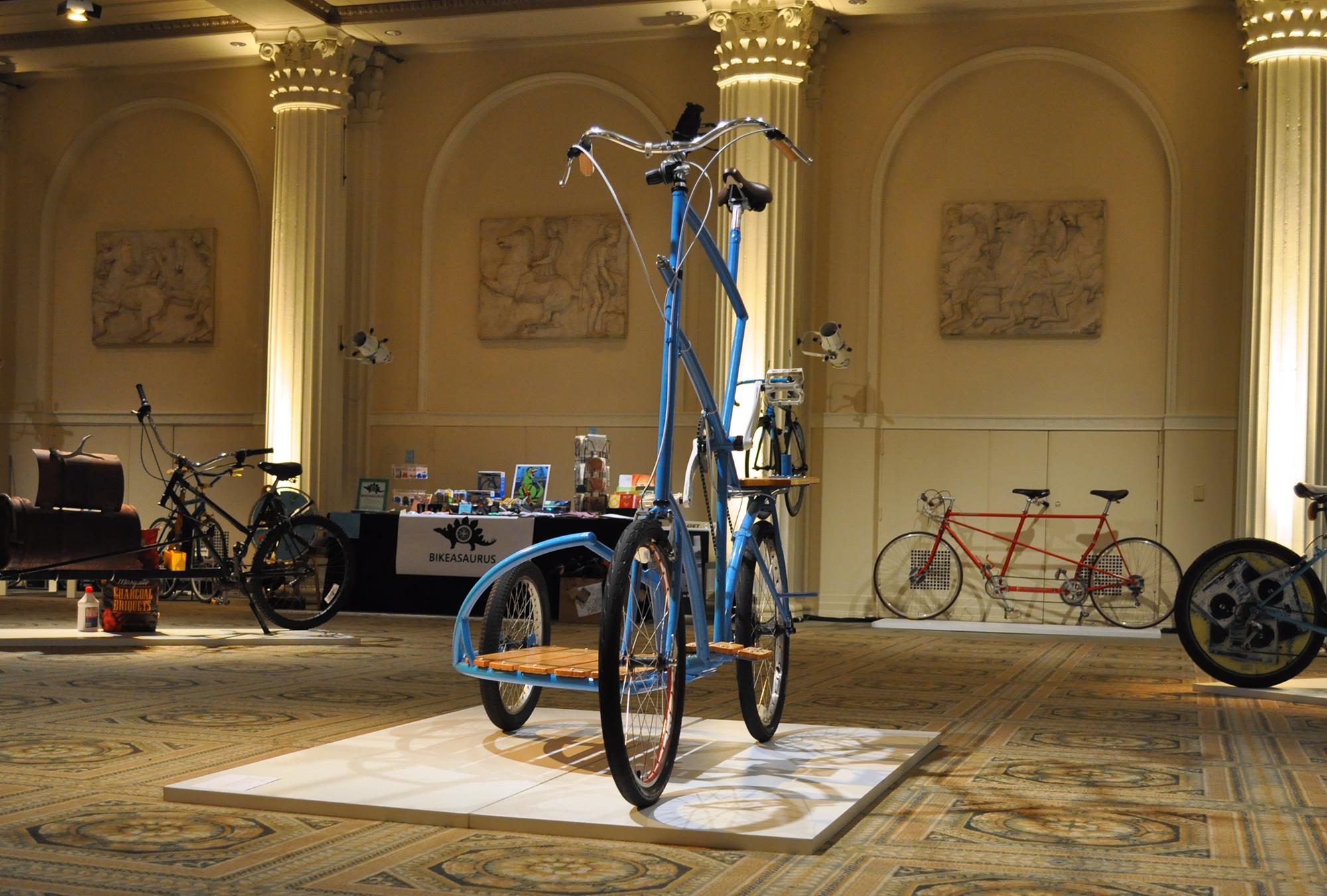 handmade freakbike bicycle portland tallbike sidecar