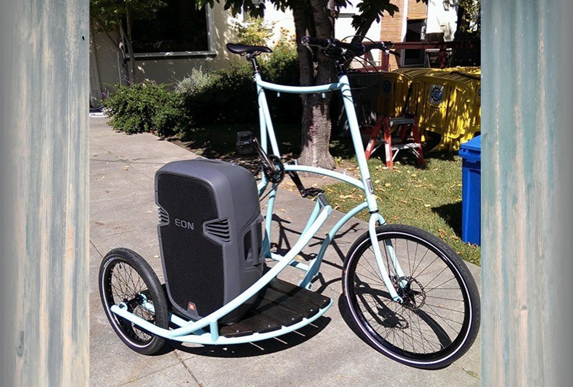 tallbike sidecar freakbike