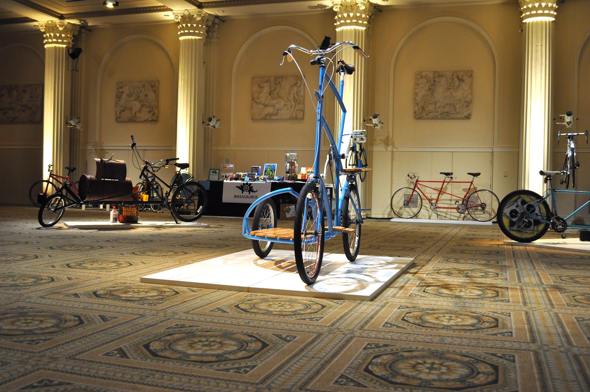Portland Art Museum Sidecar Tallbike Bicycle bigtop