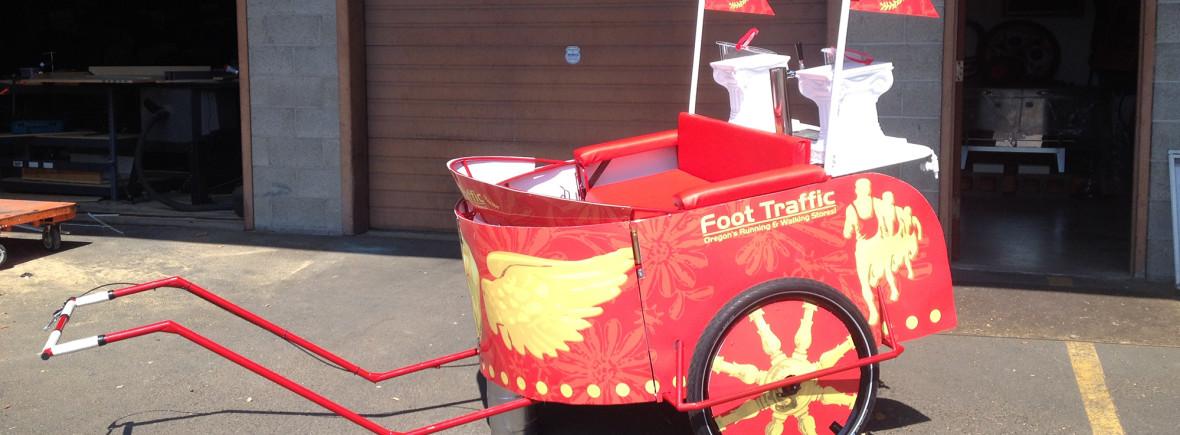 running rickshaw foottraffic pdx portland