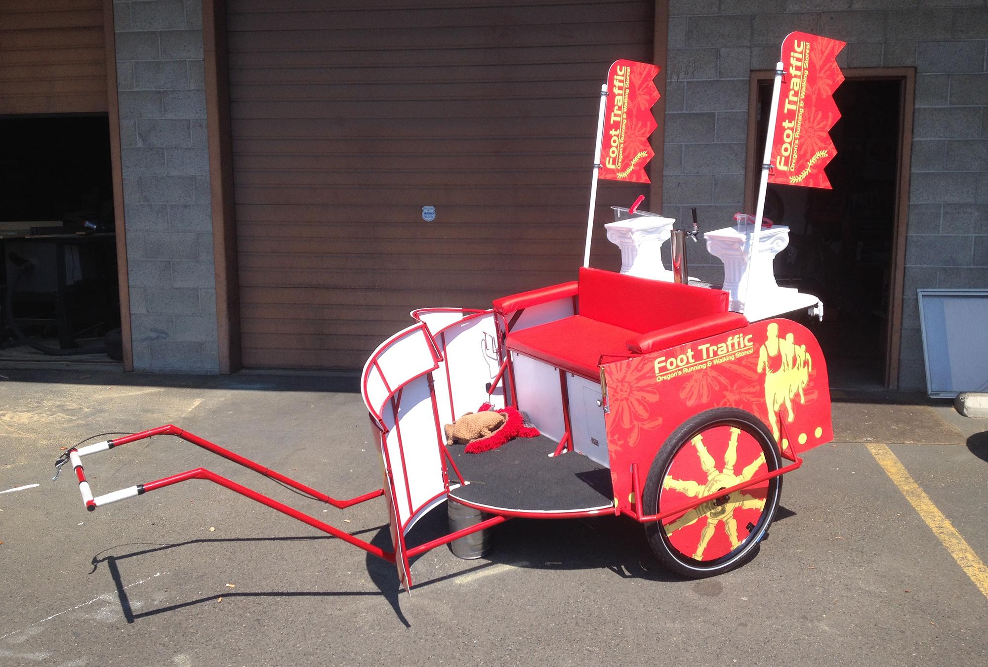 foottraffic pdx portland running rickshaw