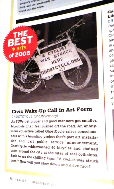 best of arts seattle magazine ghostcycle