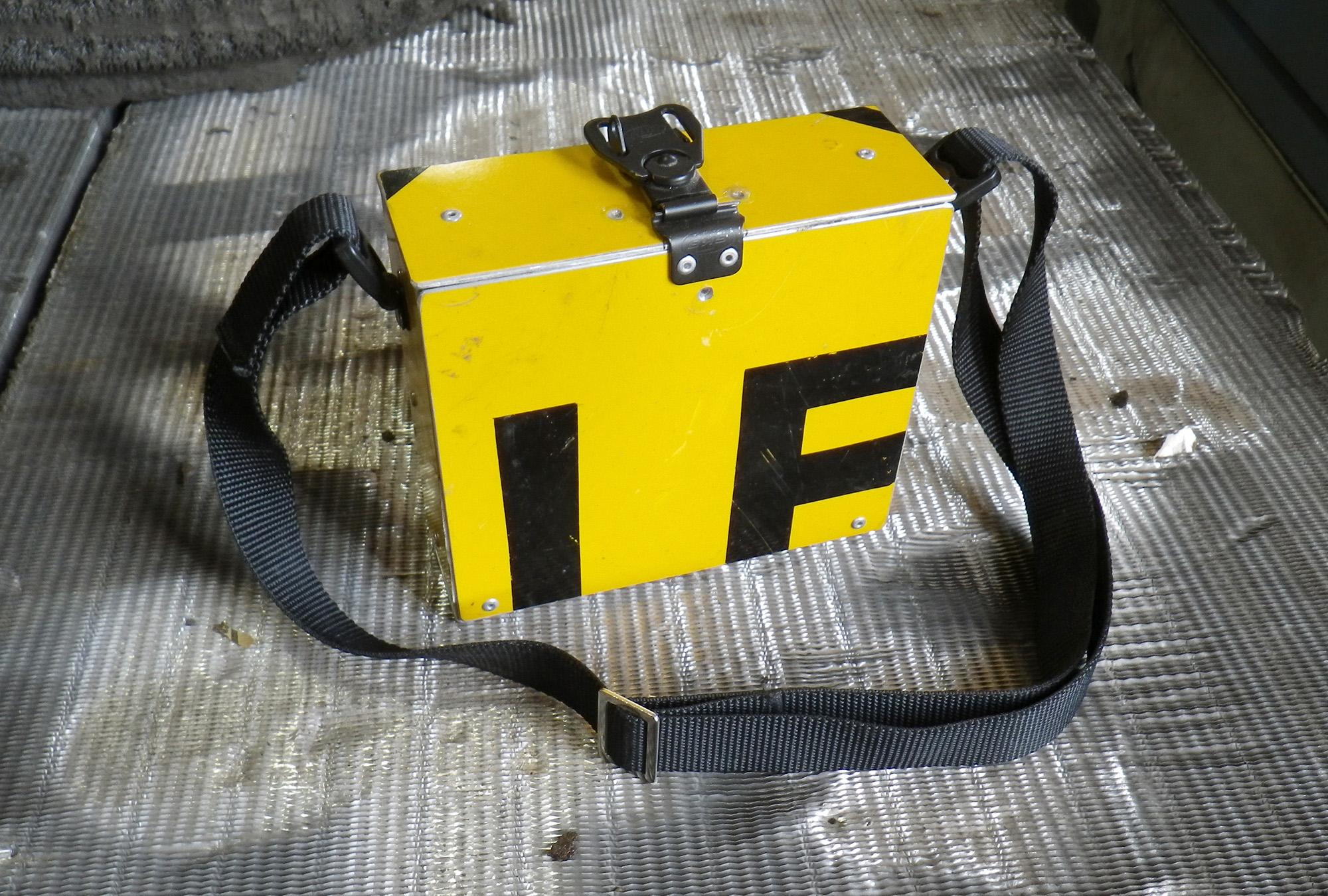 upcycled streetsign handbag