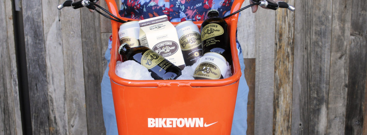 Biketown Portland Stumptown coffee roasters