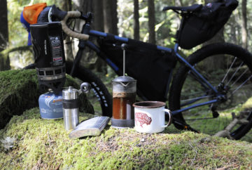 french press stumptown camp coffee