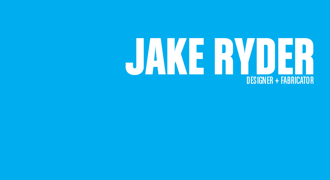 Jake Ryder Design Portfolio Portland Oregon