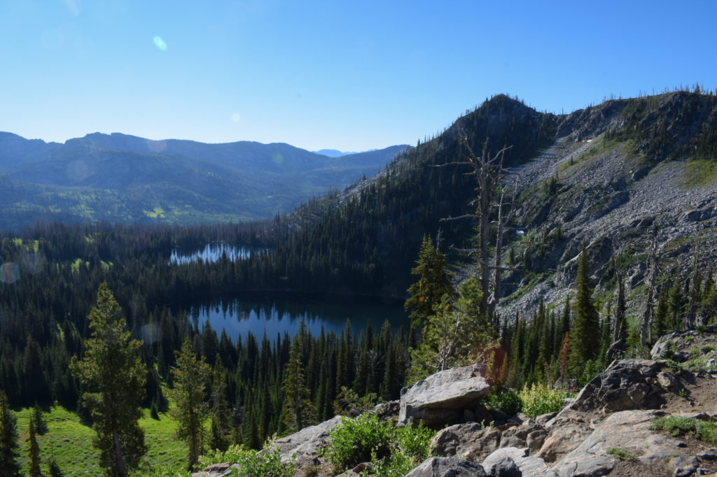backpacking travel photography idaho