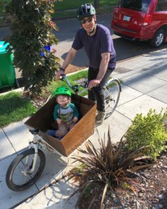 Portland Cargobike cargo bike handmade fietsofstrength