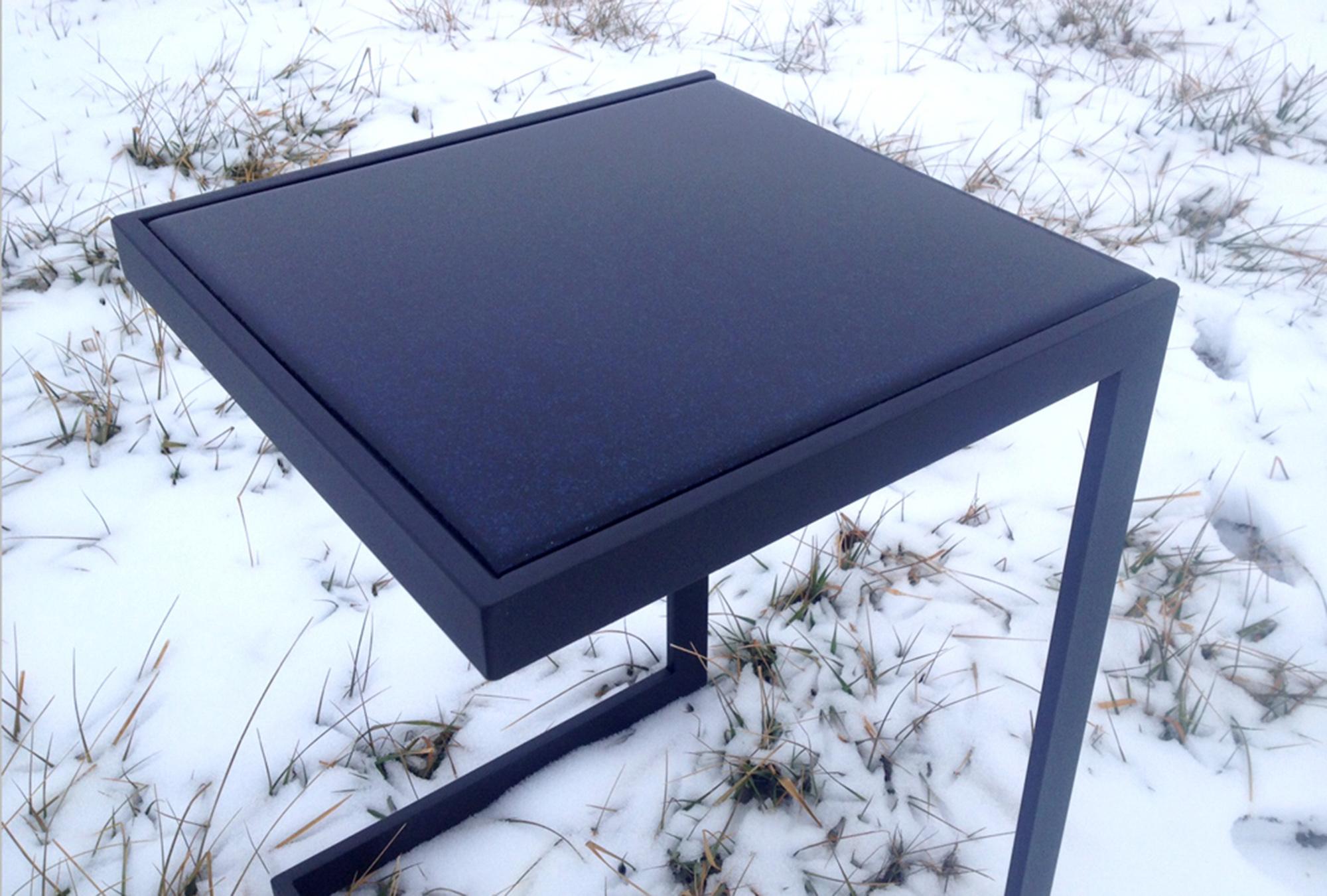 saint furniture handmade glass table