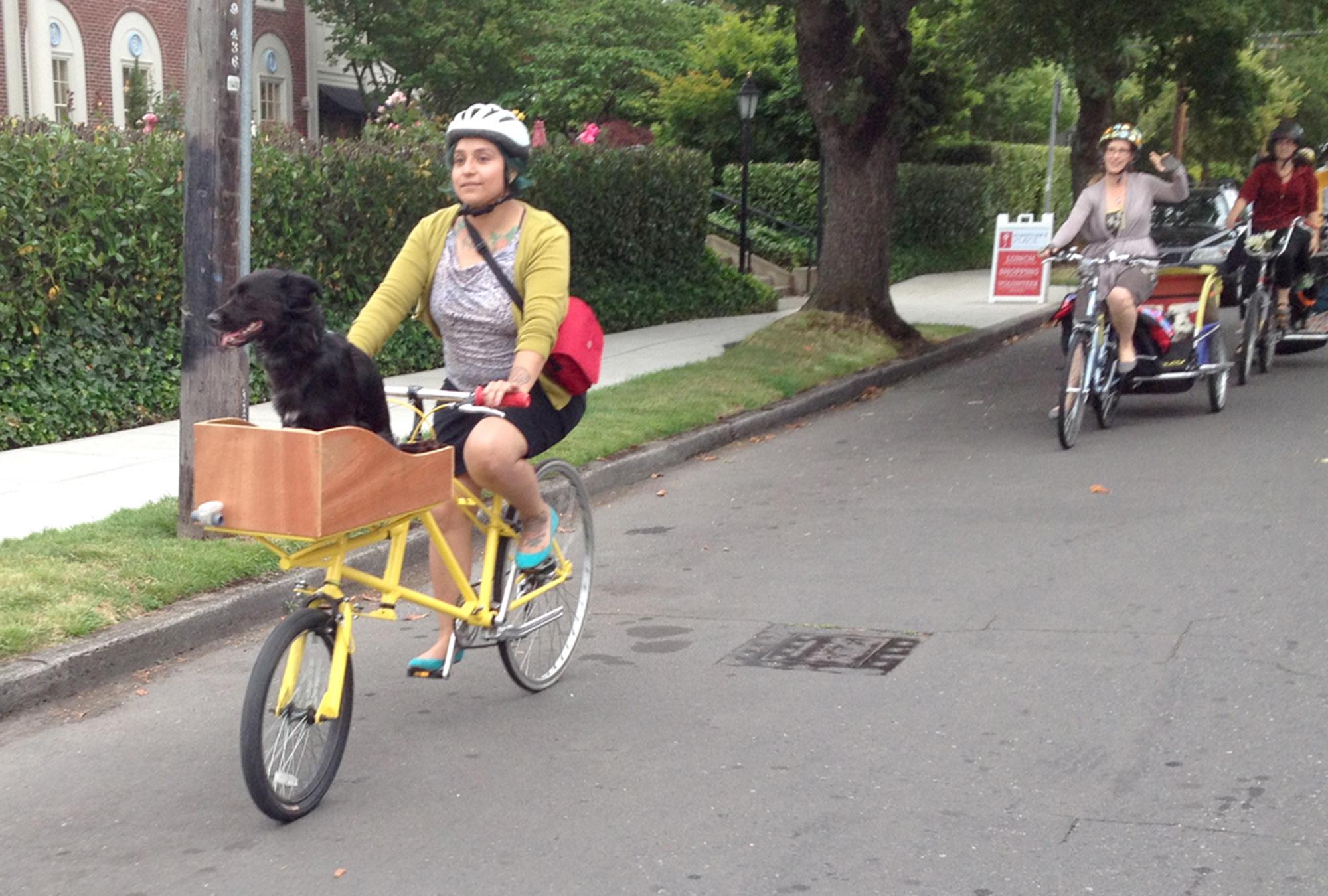 retrofiet cargobike bakfiets handmade pdx portland