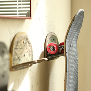 upcycled skateboard recycled
