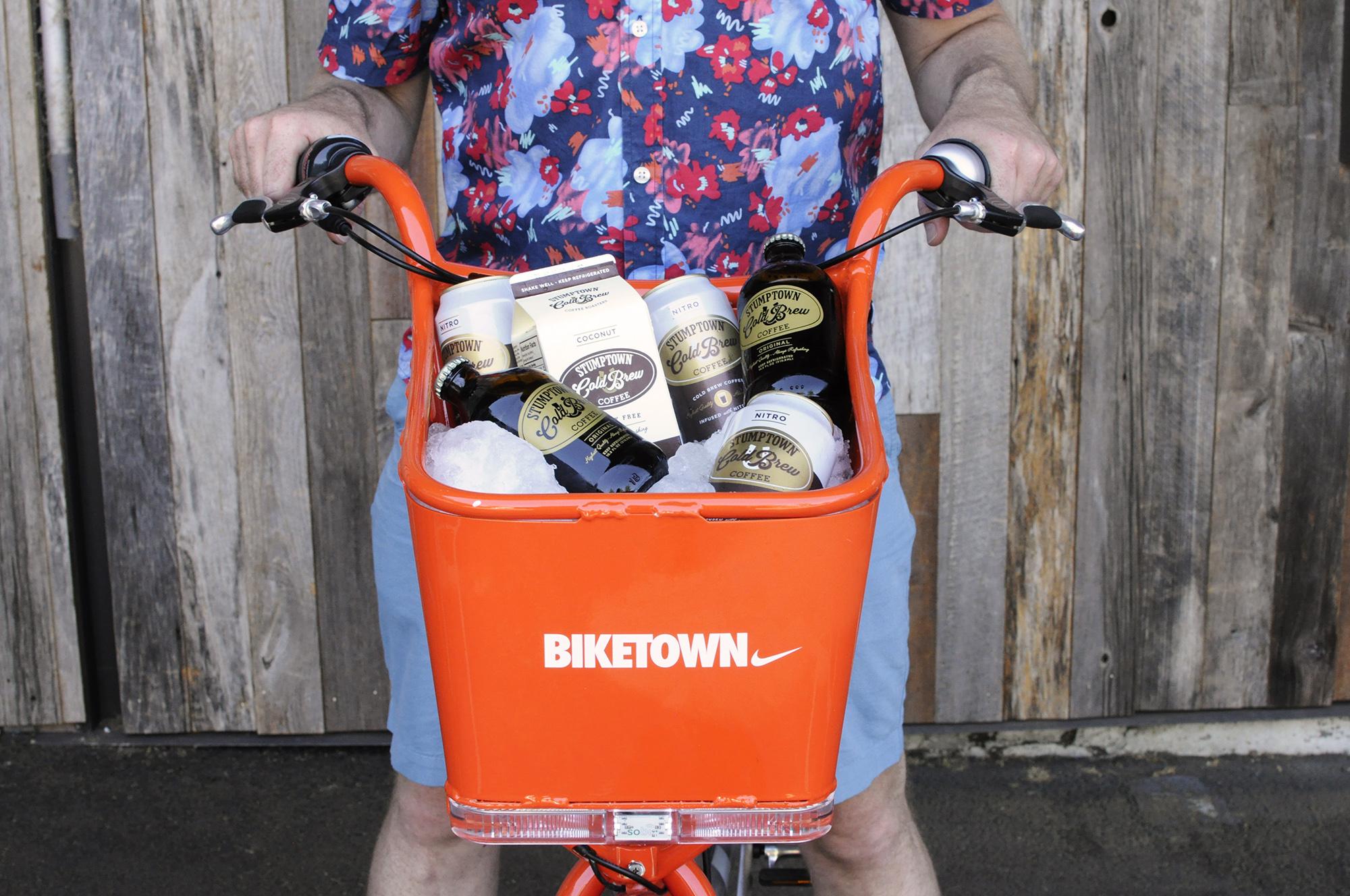 Biketown Portland Stumptown coffee roasters