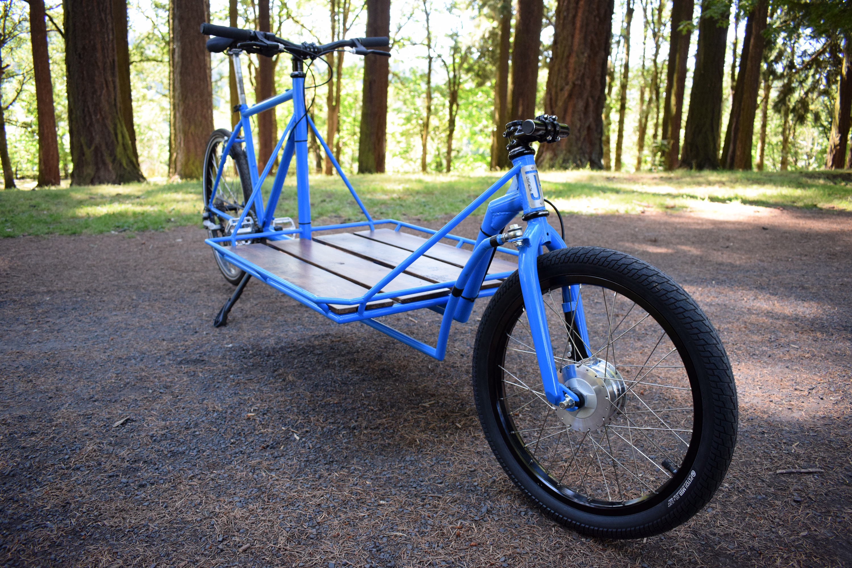 retrofiet fiets of strength cargobike bakfiets